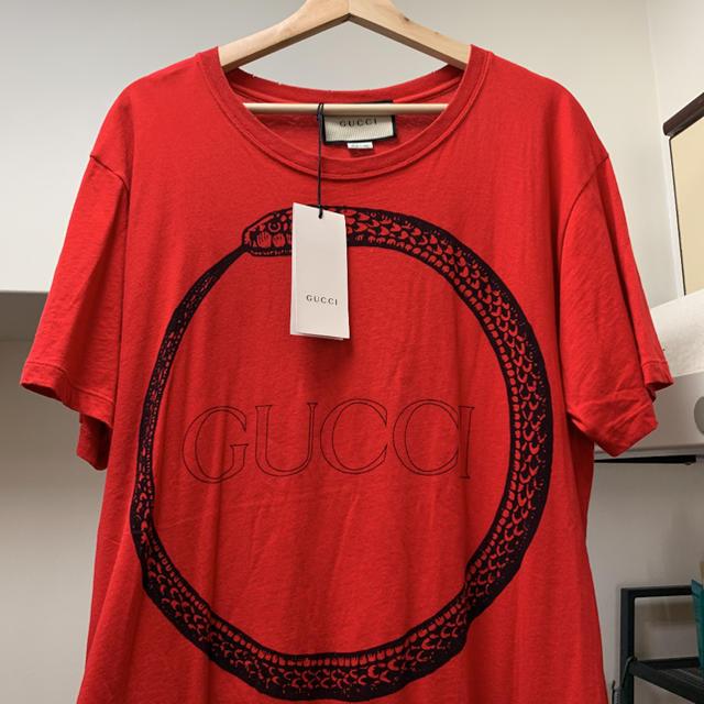 腕 時計 黒 ゴールド 偽物 - Gucci - GUCCI シャツ ウロボロスの通販