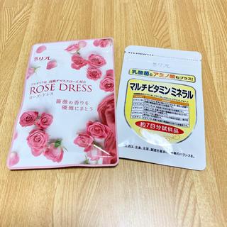 リフレ ローズドレス 薔薇のサプリメント付き根本からエチケット対策 柿渋由来成分