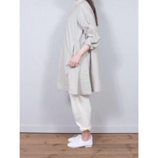 nest Robe - ネストローブ コットンフレアシャツドレス