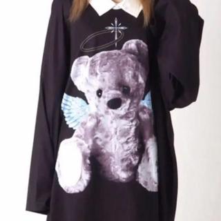 MILKBOY - TRAVAS TOKYO  Devil bear BIG L/S Tee 天使
