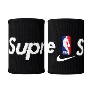 シュプリーム(Supreme)の国内購入 Supreme NIKE NBA リストバンド 黒(バングル/リストバンド)