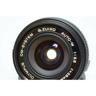 オリンパス(OLYMPUS)の【単焦点】 OLYMPUS G.ZUIKO 28mm F3.5(レンズ(単焦点))
