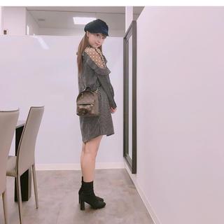 snidel - sister jane ショルダーフラワーワンピース 三上悠亜ちゃん着用
