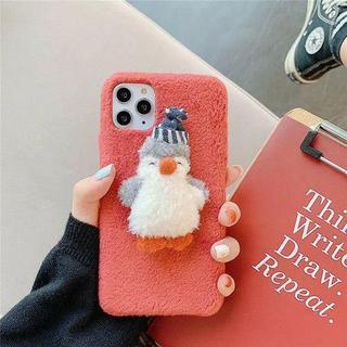 モコモコペンギンちゃん iPhoneケース(iPhoneケース)