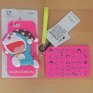 GU - 新品未使用 ジーユー ドラえもん iPhone ケース パスケース ピンク