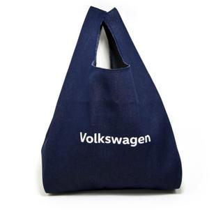 フォルクスワーゲン(Volkswagen)のフォルクスワーゲン  デニム エコバッグ マルシェバッグ③(エコバッグ)