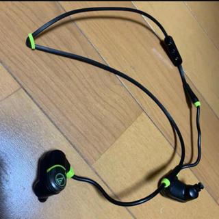オーディオテクニカ(audio-technica)のオーディオテクニカ スポーツ用Bluetoothイヤホン(ヘッドフォン/イヤフォン)