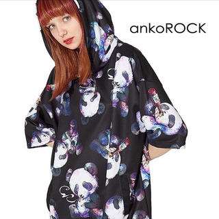 ankoROCK - ankoROCK アンコロック ダーティーパンダズ 半袖プルオーバーパーカー