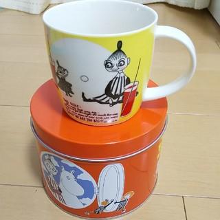 リトルミー(Little Me)のムーミン★ミー缶入りマグカップ新品(グラス/カップ)