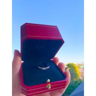カルティエ(Cartier)のカルティエ Cartier ハッピーバースデー ロゴ リング(リング(指輪))