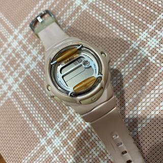 ベビージー(Baby-G)のBaby -G  薄ピンク中古 電池切れ(腕時計(デジタル))