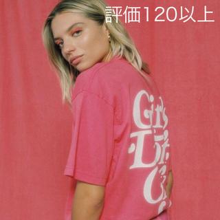 GDC - girls don't cry LOGO Tee PINK サイズ L
