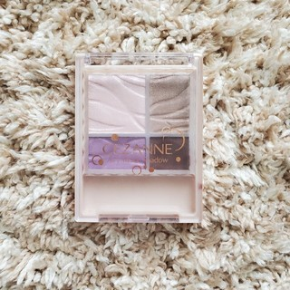 CEZANNE(セザンヌ化粧品) - セザンヌ エアリータッチシャドウ 05 スミレブラウン
