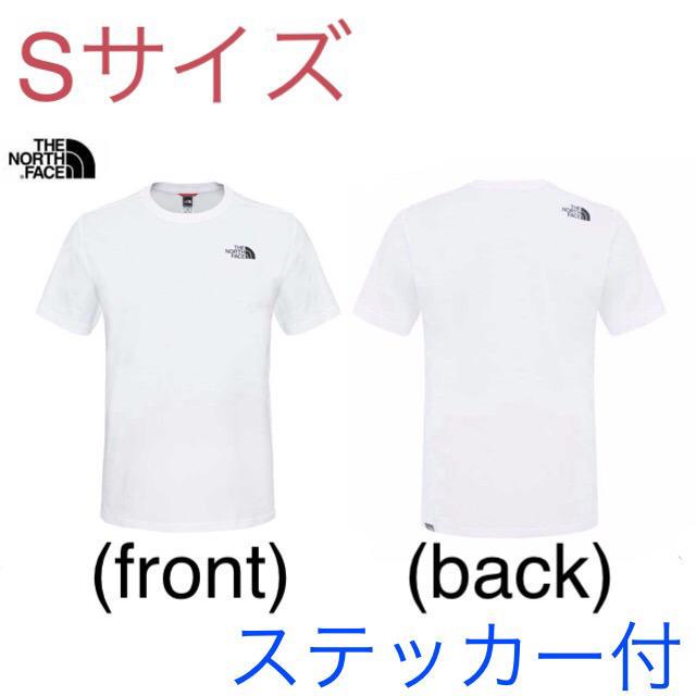 THE NORTH FACE(ザノースフェイス)の【処分価格】最新 ノースフェイス Tシャツ Sサイズ  新品(ステッカー付) メンズのトップス(Tシャツ/カットソー(半袖/袖なし))の商品写真