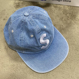 Supreme - Supreme Washed Chambray S Logo 6-Panel