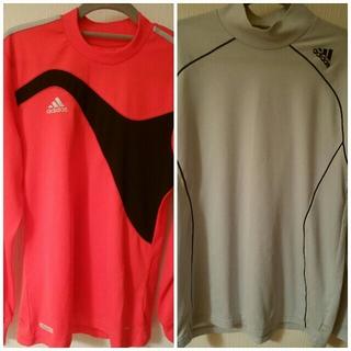 アディダス adidas サッカー 長袖Tシャツ Lサイズ