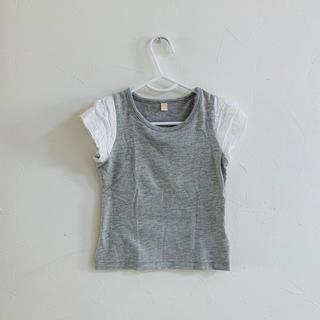西松屋 - 袖レースTシャツ