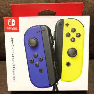 Nintendo Switch - Switch用 Joy-Con(L) ブルー/(R) ネオンイエロー