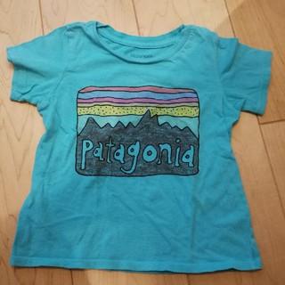 patagonia - Patagoniaパタゴニア キッズロゴTシャツ
