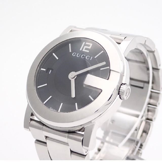 ラコ腕時計偽物,Gucci-【GUCCI】グッチ腕時計'Gラウンド101J'ブラック☆電池交換済み☆の通販