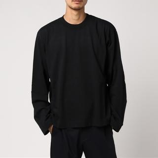 ジエダ(Jieda)のJieDa LONG SLEEVE T-SHIRT BLACK 1(Tシャツ/カットソー(七分/長袖))