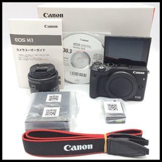 Canon - CANON EOS M3 ブラック 標準レンズ