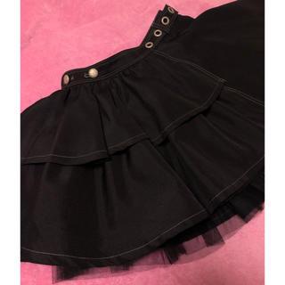 アルゴンキン(ALGONQUINS)のチュール 5way巻きスカート(ミニスカート)