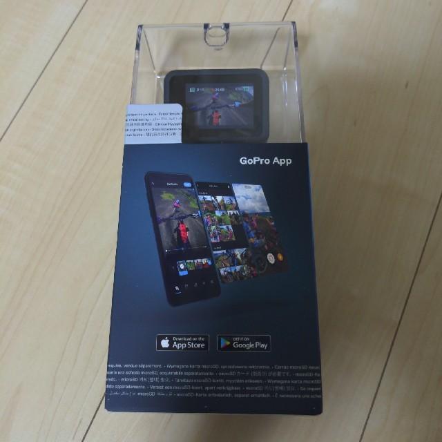 GoPro(ゴープロ)の新品未開封 GoPro hero8 black chdhx-801-rw スマホ/家電/カメラのカメラ(ビデオカメラ)の商品写真