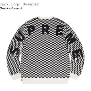 Supreme - supreme Back Logo Sweater Lサイズ
