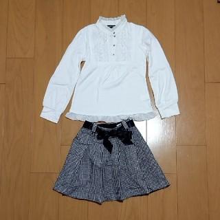 エル(ELLE)の春物 女児 上下セット(ドレス/フォーマル)