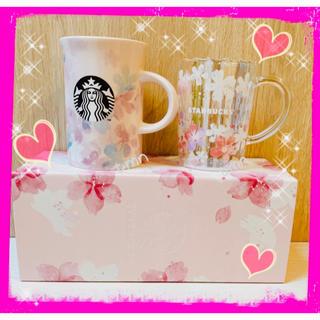 Starbucks Coffee - 残りわずか❗️限定ボックス入り❗️スターバックス☆サクラ2020☆マグカップ2点