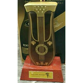 サントリー(サントリー)の希少 サントリー楽器ボトル リラギター(サントリーウィスキー響)(ウイスキー)