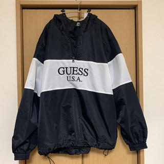 ゲス(GUESS)のguess green labelナイロンジャケット(ナイロンジャケット)
