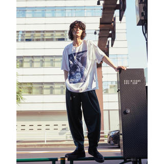LAD MUSICIAN - LADMUSICIAN プリントBIGT Tシャツ 19ss 46