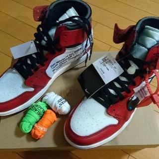 ナイキ(NIKE)の27.5cm NIKE × off white Air Jordan 1(スニーカー)