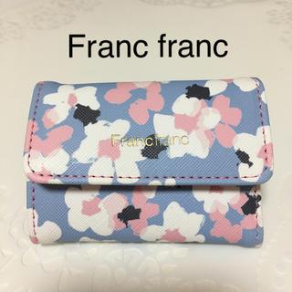 Francfranc - フランフラン  カードケース ブルー