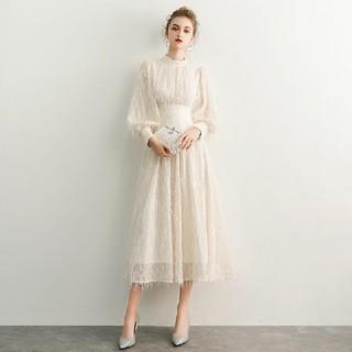 純白 結婚式 ホワイト 花嫁 ウェディング プリンセス 白ドレス ロング 披露宴
