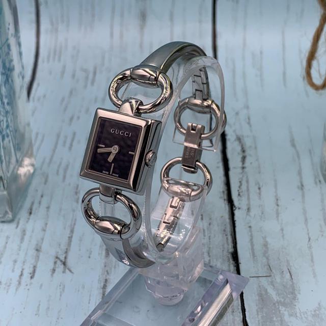 スーパー コピー ブライトリング 時計 | Gucci - Gucci YA120501 トルナヴォーニ ブラック レディース ブレスの通販