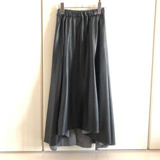 UNITED ARROWS - ユナイテッドアローズ   ASTRAET フェイクレザー  スカート  黒