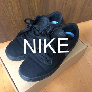 NIKE - 【NIKE】黒スニーカー23.5センチ