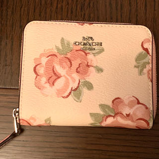 COACH - 新品☆コーチ お財布 花柄 バラ ピンク