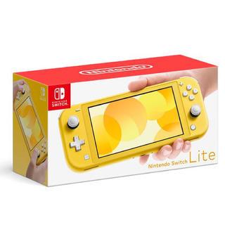ニンテンドースイッチ(Nintendo Switch)の任天堂 Nintendo Switch lite イエロー(家庭用ゲーム機本体)