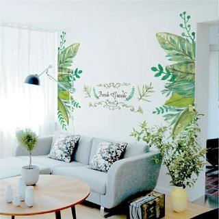✫新品超特価✫インテリアウォールステッカー✦観葉植物✥Fresh✧Green✥