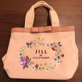 JILL by JILLSTUART - 【限定品】フローラルチェーントートバッグ ピンク