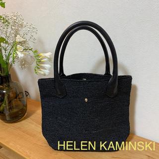 ヘレンカミンスキー(HELEN KAMINSKI)の新品同様✨ヘレンカミンスキーバッグ(かごバッグ/ストローバッグ)