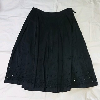 mina perhonen - ミナペルホネン  sunny spots  スカート  ブラック