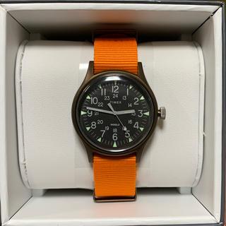 タイメックス(TIMEX)のタイメックス TIMEX MK1 アルミニウム オレンジTW2T10200正規品(腕時計(アナログ))