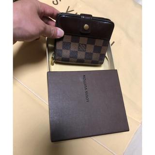 LOUIS VUITTON - 正規品 ルイヴィトン ダミエ 折財布