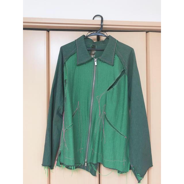 Yohji Yamamoto(ヨウジヤマモト)のsulvam 19ss ドリズラージャケット メンズのジャケット/アウター(ブルゾン)の商品写真