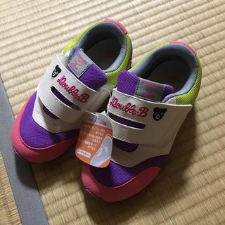 ミキハウス(mikihouse)の新品 ミキハウス  ダブルビー   ミズノ 靴 19.5cm(スニーカー)